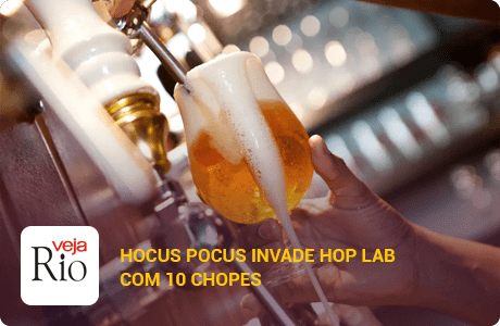 Hocus Pocus invade Hop Lab com 10 chopes